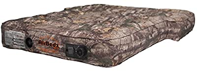 AirBedz PPI-CMO_XUV Camouflage Jeep, SUV & Crossover Vehicle Rear Seats Mattress (with Built-in Rechargeable Battery Air Pump)