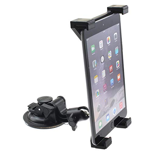 Car Mount Dash Windshield Holder for Galaxy Tab S6 Lite 10.4 - Swivel Cradle Dock Heavy Duty Compatible with Samsung Galaxy Tab S6 Lite 10.4