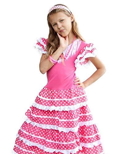 Vestido Flamenca En Blanco