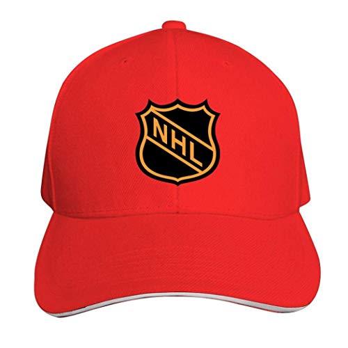 NHL Casquette Hat Neutral Verstellbar Truck Driver Cap, Herren, 457PTZU-MCM-OON, rot, Einheitsgröße