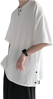 夏服 メンズ 半袖tシャツ メンズ ビッグt 無地 大きい おおきい サイズ 軽い 柔らかい シルエット おしゃれ ファッション