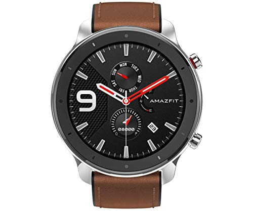 Amazfit GTR 47mm Smartwatch - Stainless Steel