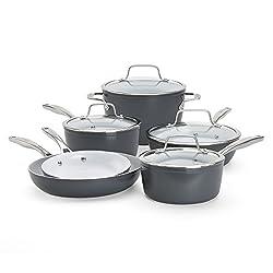 Bialetti Aeternum Signature 7308 10 Piece Cookware Set