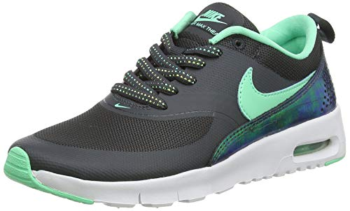 Nike 820244-002, Zapatillas de Trail Running Mixte Enfant, Gris (Anthracite/Green Glow), 35.5 EU