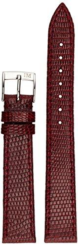 Morellato A01U2116372081CR16 - Cinturino in pelle donna LIVORNO, Rosso,16 mm