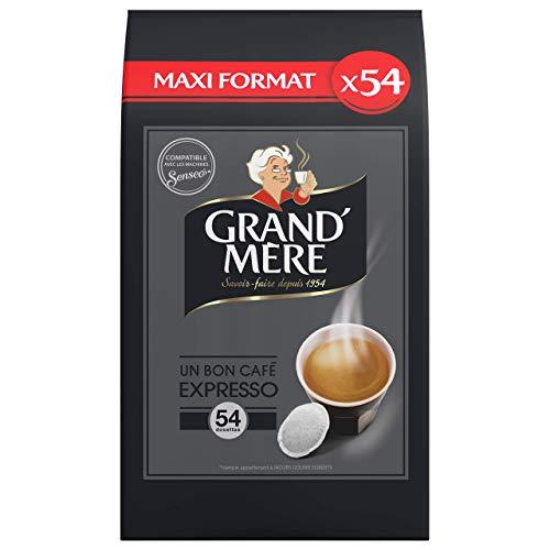 Grand Mère Café Espresso, Les 54 Dosettes, 356g