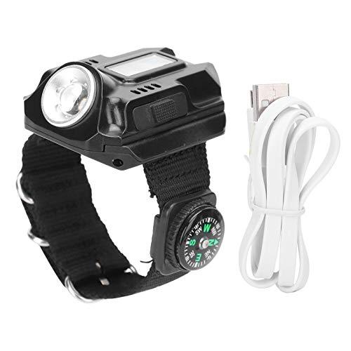 Evonecy USB Que Carga la Linterna Multifuncional, mira la Linterna, Camina para Acampar
