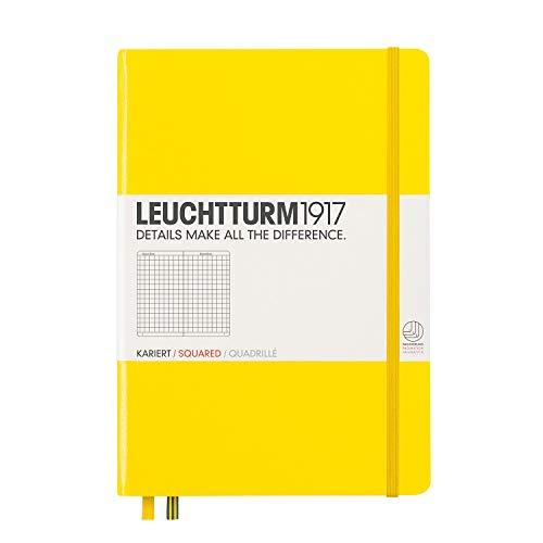 ロイヒトトゥルム ノート A5 方眼 レモン 344799 正規輸入品