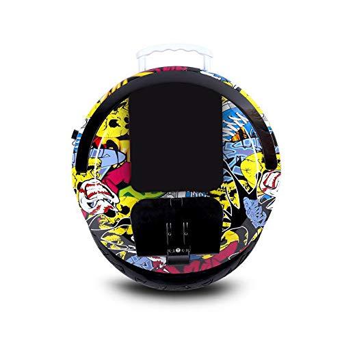"""Helmets Gyroroue électrique Adulte Unisexe, Version Accessoire de Protection Gyroroue Noire, 14"""" -Parleur Bluetooth, E-Scooter, Gyroroue Unisexe Adulte"""