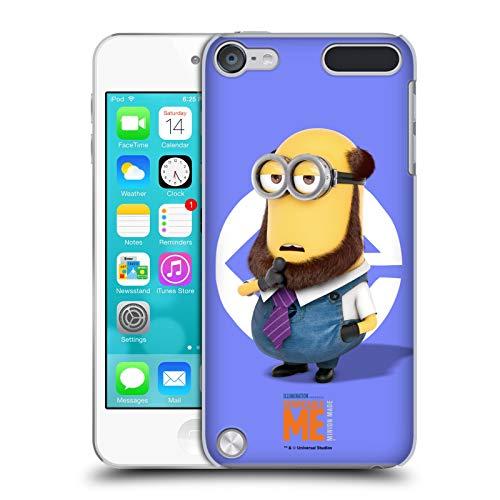 Head Case Designs Licenciado Oficialmente Despicable Me Disfraz de Barba de Kevin Esbirros Carcasa rgida Compatible con Apple iPod Touch 5G 5th Gen