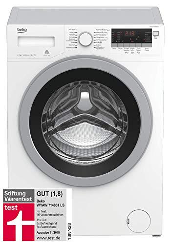 Beko WYAW 714831 LS Waschmaschine Frontlader / A+++ / 1400 UpM / Selbstreinigung / Watersafe+ /...