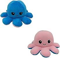 Octopus Knuffels Omkeerbare Octopus Knuffel Dubbelzijdige Flip Octopus Pop Octopus Knuffel Pop Cadeaus pluche pop...