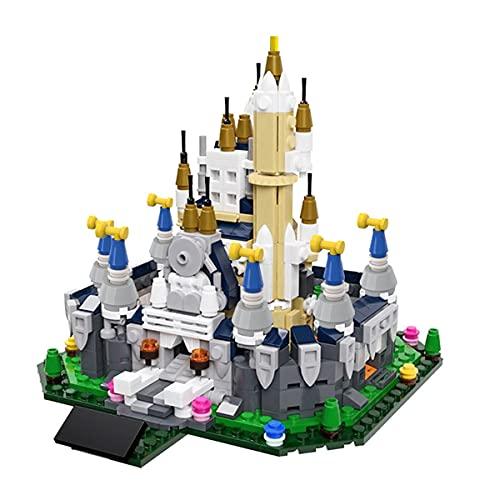 HARTI Building Block Toy for Girls, Classic Creative Mini Street View Castle Assembled Building Bricks Set Children Educational Toy Gift-581Pcs Construction Kit