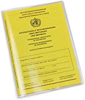 Protective cover for current vaccination certificate, crystal clear and perfect fit, made in Germany, tear-resistant...