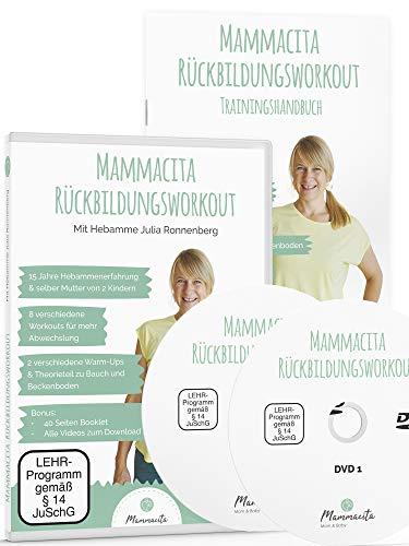 Rückbildungsgymnastik Rückbildungskurs 2 DVDs von Hebamme mit 40 Seiten Buch. Fit nach der Schwangerschaft, Rückbildung & Beckenbodentraining für Mütter. Fitness nach der Schwangerschaft & Geburt