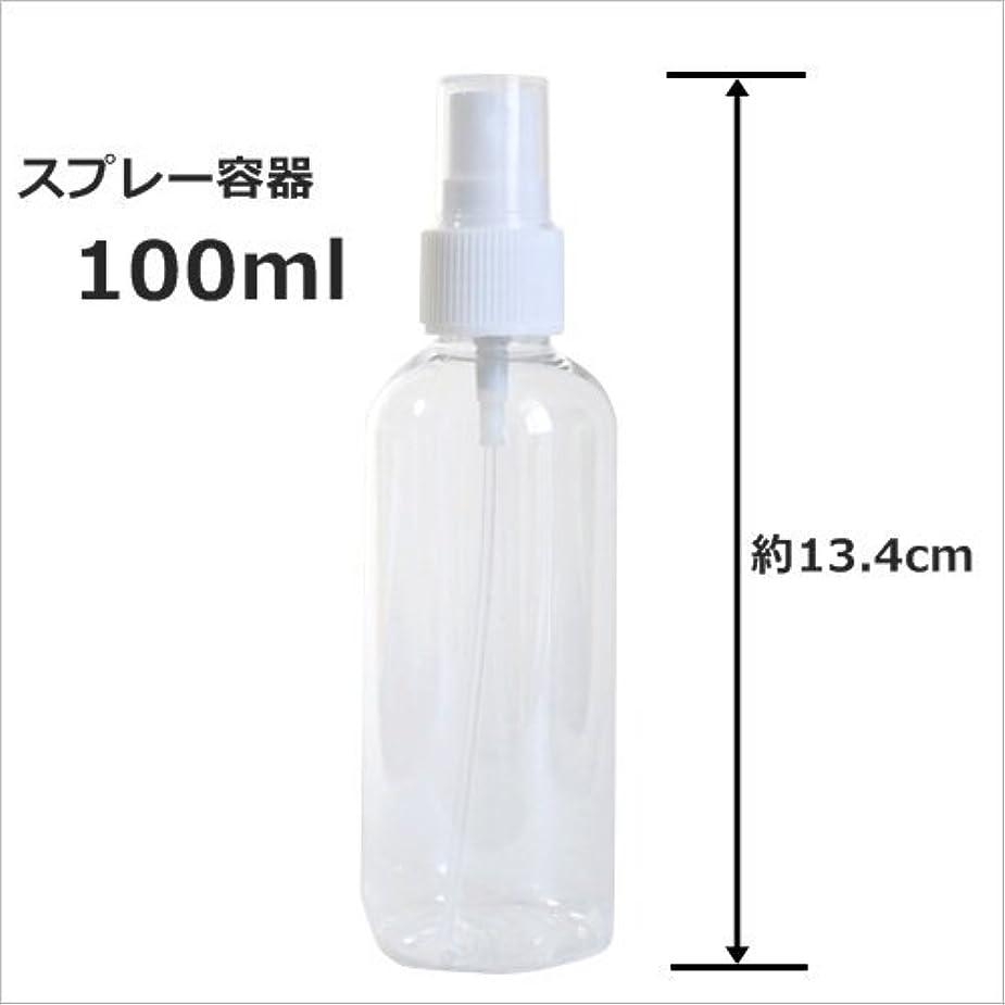 追加冊子混乱したスプレーボトル 100ml プラスチック容器 happy fountain