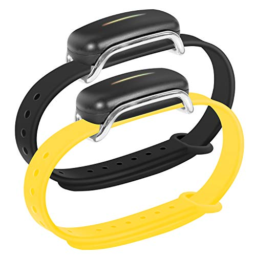 Oritys Silicone Band for Touch Bracelet, Bond Bands, Comfortable and Durable. Midsummer Yellow.