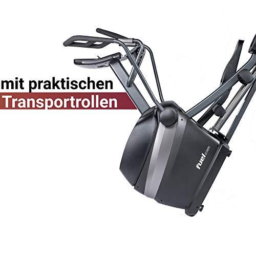 Fuel Fitness EC1000 Crosstrainer Transportrollen