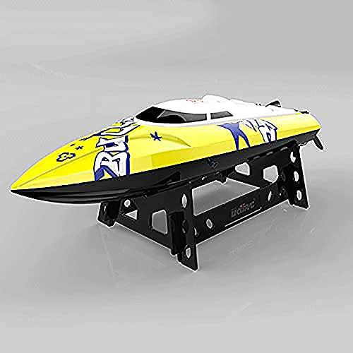 LINXIANG Botes RC rápidos de 2.4G para adultos y niños, con lancha rápida RC remota de 20+ Mph, juguetes acuáticos controlados por radio eléctricos a prueba de agua, regalo de cumpleaños de Navidad pa