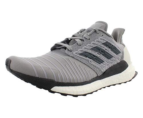 adidas Men's Solar Boost Running Shoe, Bold Onix/Grey, 9 M US