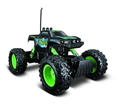Maisto Tech 581781 - Auto radiocomandata Monstertruck con Comando a Distanza e manopola a Pistola, 32 cm, Colore: Nero