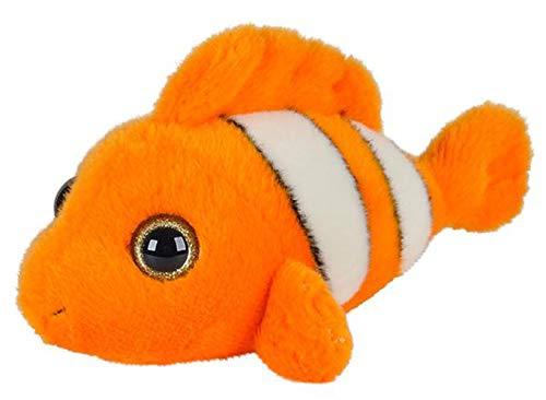 Wildlife Tree 7 Inch Stuffed Clown Fish Plush Animal Kingdom Collection