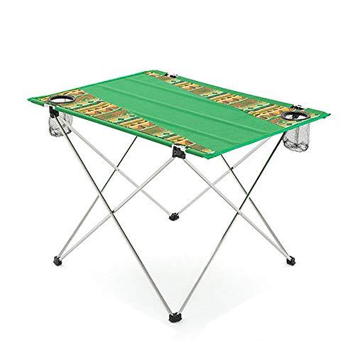 ZA Outdoor aluminium Folding campingtafel, draagbare ultra-lichte opvouwbare kleine tafel voor strand, wandelen, BBQ, kaarten, picknick