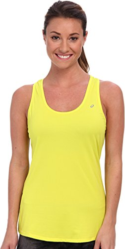 ASICS Top Emma Racerback para Mujer, Mujer, WR1645, Verde Lima, XS
