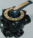 Productos QP Válvula 6 Vias Sin Enlaces 11/2, Negro, 47x28x28 cm, 500480N