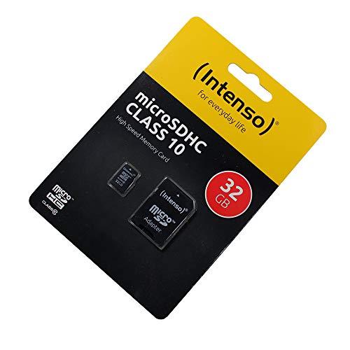 Coolpad Porto S Speicherkarte microSDHC, 32GB, Class 10, High Speed, SD Adapter