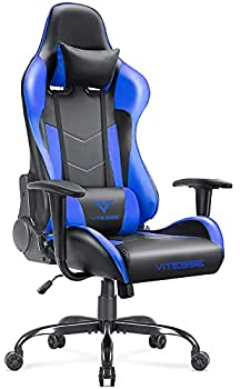 VIT Ergonomic Gaming Gamer Chair for Adults 400 lbs PC Computer Chair Racing Gaming Office Chair Silla Gamer Height Adjustable Swivel Chair with Lumbar Support and Headrest