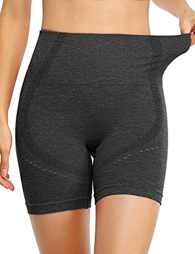 BLEVONH Black Booty Shorts,Women Elastic Waistband Yoga Workout Short Girls Petite Comfy Slim Short Black S