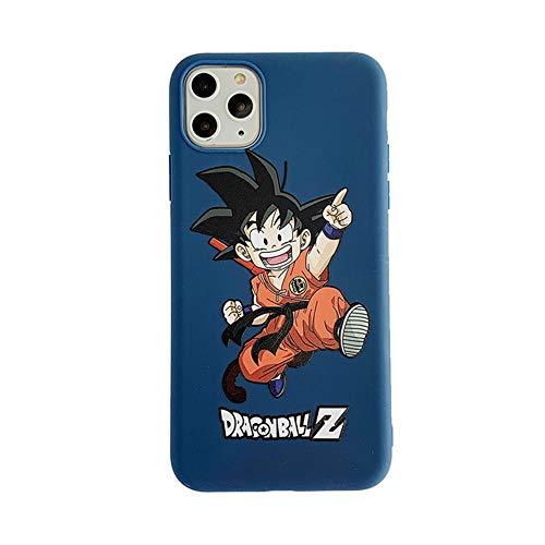 Funda para iPhone Xs Max, funda para iPhone Xs Max, Cute Dragon Ball Z, Super Son Goku, silicona suave, funda para iPhone Xs Max XR 6S 7 8 Plus