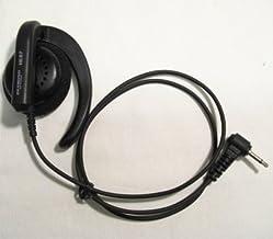 第一電波工業 ダイヤモンド 耳かけハンディ用イヤホン コード長50cm HE87K