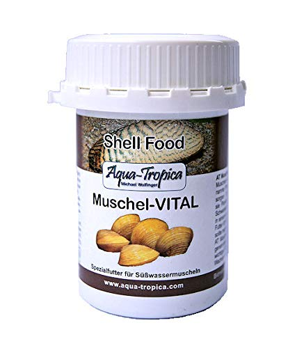 Aqua-Tropica Muschel-VITAL - Futter für alle Süßwassermuscheln, 40 g