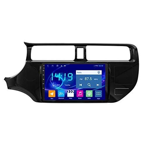 Dscam Car Stereo Android 9.1 Cuatro Núcleos Coche Autoradio GPS Navegación para Kia Rio 2012-2014 | 9 Pulgada | Pantalla LCD Táctil | USB | WLAN | 4.0 Bluetooth