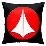 Robotech Logo Super Soft Microfiber Decorative Throw Pillow Cover Fashion Waist Cushion Pillowcase 18x18inch (45 X 45cm)