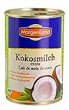 Morgenland Bio Kokosmilch extra (1 x 400 ml) -