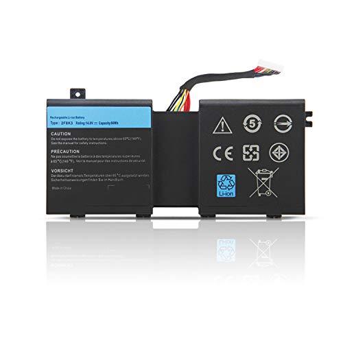 K KYUER 14.8V 86Wh 5700mAh 2F8K3 Batería para Dell Alienware 17 R1...