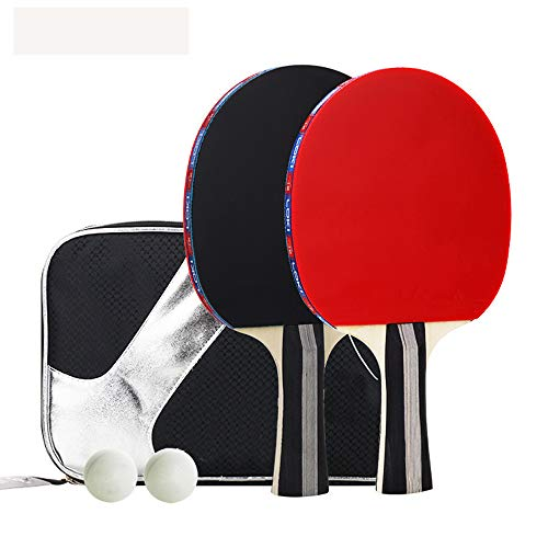 For Sale! jessieline Table Tennis Sets,Pingpong Paddle (2 Bats and 3 Balls for 2 Player Ping Pong),A...
