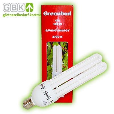 Greenbud Double Power 125W Rot Blüte ESL CFL Grow