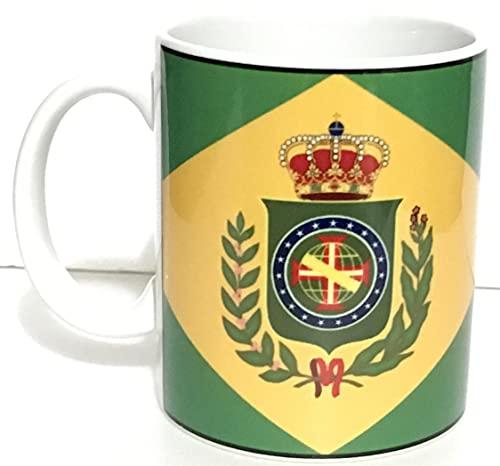 Caneca da bandeira do Brasil Império