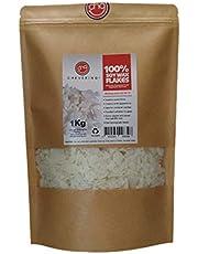 Chevering | Cera de Soja 100% Natural (1Kg) Escamas - Blanco