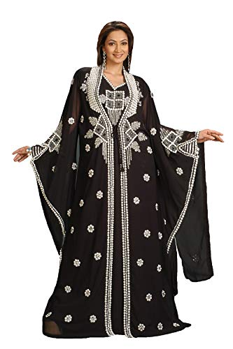 Maxim Creation 1684 - Vestido de novia (caftán palestino, estilo árabe)