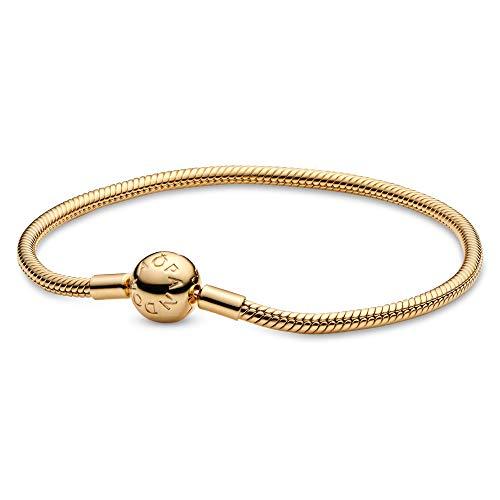 Pandora Jewelry Moments Snake Chain Pandora Shine Bracelet, 6.3'
