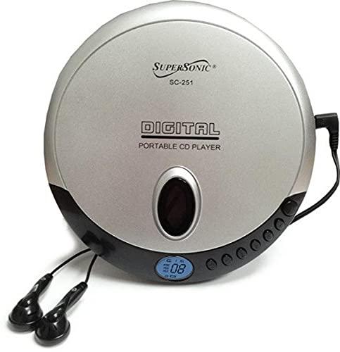 Supersonic Leitor de CD pessoal SC251