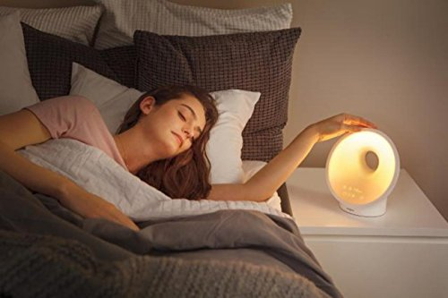Philips Somneo Sleep and Wake-up Light Therapy Lamp HF3650 Dawn Simulator