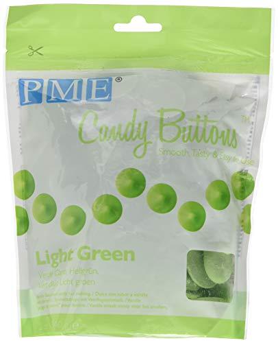 PME Candy-Buttons, Hellgrün, 340 g