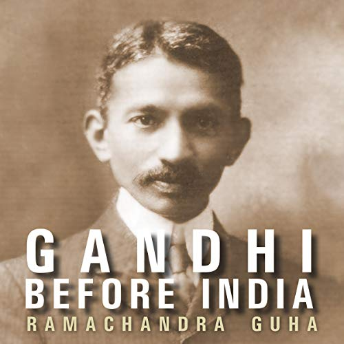 Gandhi Before India cover art