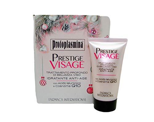 Protoplasmina maschera viso idatante anti-age prestige visage 50ml versione natalizia